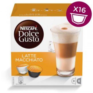 CAPSULAS CAFE DOLCE GUSTO LATTE MACCHIATO